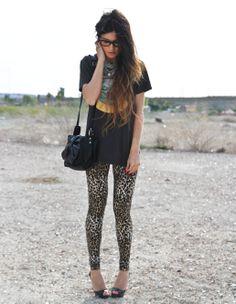 Leopard + BAND TEE