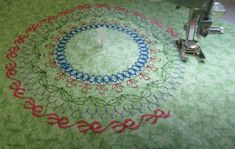 Get tips to sew perfect circles with the BERNINA Circular Embroidery Attachment from WeAllSew.