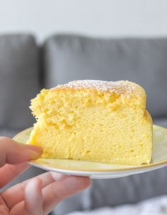 Cheesecake japonés { Japanese cotton cheesecake }