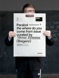Parabol Art Magazine | The where do you come from issue - curated by Yilmaz Dziewior (Bregenz)