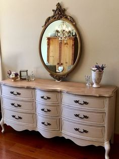 37 The French Provincial Dresser Makeover Game Dresser Makeovers Dresser French Game Makeover Provincial French Provincial Bedroom, French Provincial Furniture, French Provincial Decorating, French Country Rug, French Decor, Cross Country, Refurbished Furniture, Furniture Makeover, Modern Furniture