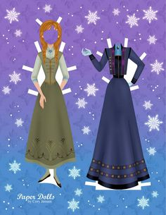 Free Frozen Paper Doll Part 4 of 8
