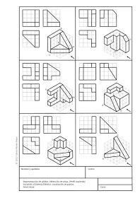 Brilliant Draw A Glass Ideas. Exquisite Draw A Glass Ideas. Isometric Drawing Exercises, Isometric Art, Geometric Drawing, Geometric Graphic, Interesting Drawings, Easy Drawings, Orthographic Drawing, Orthographic Projection, Cad Drawing