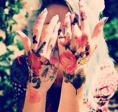 -flower tattoos