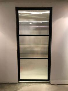 SC sliding door to mirror crittall Glass Pocket Doors, Metal Screen, Iron Doors, Metal Fabrication, Iron Wall, Window Wall, Windows And Doors, Sliding Doors, Bathroom Medicine Cabinet