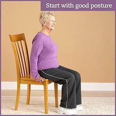 Physical activity is important when you have diabetes. Diabetic foot pain or flexibility problems don& need to keep you from exercising. Grab a chair and take a seat for these simple stretches, low-impact strength exercises, and cardio moves. Flexibility Workout, Strength Workout, Strength Training, Type 1, Genius Ideas, Chair Exercises, Balance Exercises, Chair Yoga, Pilates Chair