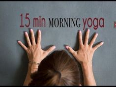▶ 15 Minute Morning #Yoga to Wake Up - YouTube #workout