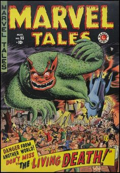 Marvel Tales #95, March 1950.