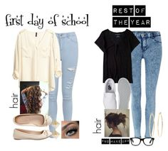 """""""Untitled #477"""" by anacxrros ❤ liked on Polyvore featuring Dr. Denim, Miss Selfridge, Aéropostale, Vans, H&M and Brooks Brothers"""