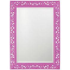 Howard Elliott Bristol Scroll Rectangle Mirror