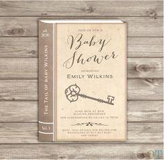 baby shower invitation storybook baby shower invitation template