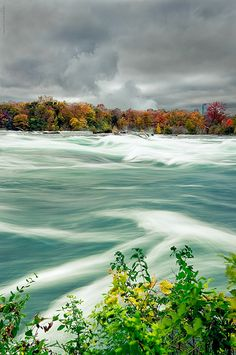 Down to the Falls, Goat Island, Niagara Falls, Ontario