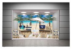 """""""Beach Bags"""" by barbarapoole ❤ liked on Polyvore featuring Palecek, Straw Studios, Accessorize and Kayu"""