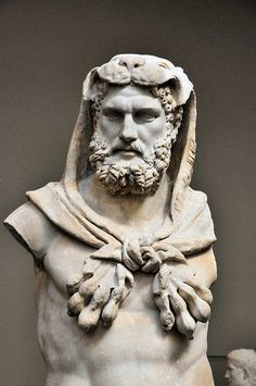 Roman Emperor Commodus at New York Metropolitan Museum of Art - Greek Roman Collection
