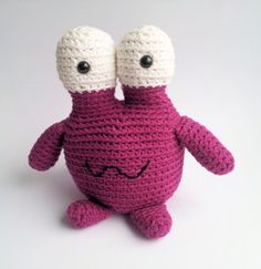 Crochet Monster Plushie Winston by AYYAhandmade on Etsy, €22.50