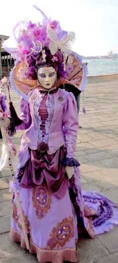 The costumes originated from the rural and poor in France. As they became rowdier and more hungry in the winter, they would rob houses and create costumes and masks to prevent identification.