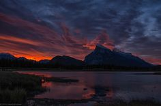 Abestof : Photo  Sunrise over Vermillion Lakes by SandyK29 http://rarme.com/?F9gZi