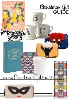 Anna Peony: CHRISTMAS GIFT GUIDE: for the Creative Optimist