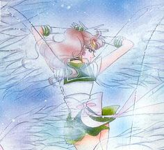 Sailor Moon and Darien Wedding | SAILOR MOON, eternal super stars.