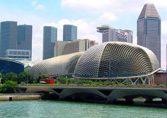 T.Y. Lin International Group | Projects | The Esplanade – Theatres on the Bay
