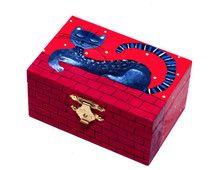 Hand painted jewelry box wood Small jewelry box girls Jewellery box Hand painted wood box Hand painted wooden box Painted trinket box