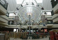 A Ferris wheel inside Scheels sporting goods store in Sandy. The store is set to open Sept. 29. (Rick Egan  | The Salt Lake Tribune)