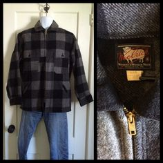 A personal favorite from my Etsy shop https://www.etsy.com/listing/244298237/vintage-1960s-woolrich-wool-jacket-gray