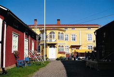 Kristiinankaupunki – Kristinestad. Ostrobothnia province of Western Finland. - Pohjanmaa.