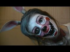 Fnaf Mangle - maquillaje - YouTube