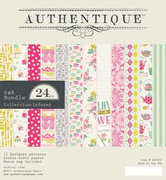 """Authentique Paper: Announcing """"Infused"""" by Authentique Paper"""