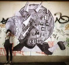 Madame (Moustache) - I Support Street ArtI Support Street Art