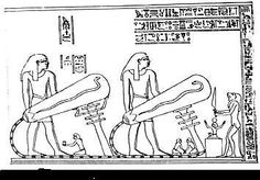 Batteries and Bulbs ancient Egyptians