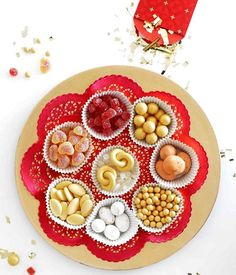 Start your Lunar New Year off on a sweet note with this fun craft! Our serving platter is tailored to the Tray of Togetherness, a traditional sectional platter with eight compartments filled with candies, dried fruits, nuts, and other symbolic treats. Get the how-to at the link in our bio!