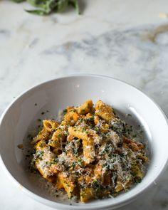 Sweet Potato Mushroom Penne Recipe by Tasty