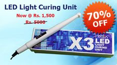 Buy Online LED Light Curing Unit Now @ Rs1,500/- at 70% OFf