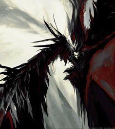 Crow Black by Archia Oryix