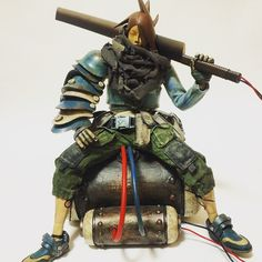 3ALegion feature: Tomorrow Kings | 7 Bones Heavy Duty Slicer Yoshitsune | Artist: Ashley Wood