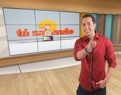 """Thiago Rocha trabalha por melhores pontos no IBOPE do Ta Sabendo? e revela sonho: """"apresentar um programa de auditório"""""""