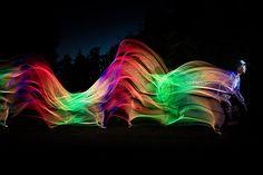 Valoa liikkeessä by ArtLeak Festival Lights, Neon Signs, City, Cities