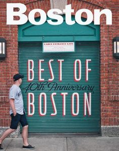 """""""Best of Boston"""" Awards for Dining, etc. Also, there is a 2014 Boston Marathon Guide in their latest issue!"""