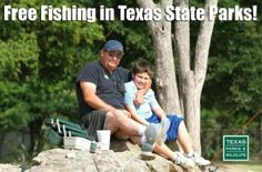 FREE Fishing in Texas State Parks For 2015 - My Dallas Mommy