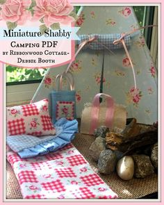 Looking for your next project? You're going to love Miniature Shabby Camping by designer Ribbonwood.