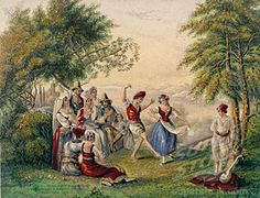 Tarantella,unknown artist,1853.