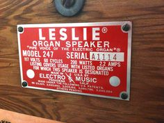 Pipe Voice of the Electric Organ