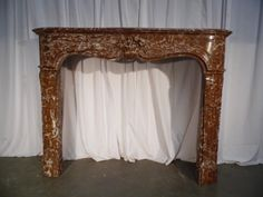 fireplace style louis xv 18th n° 22 - Cheminées - Cheminées et décorations - Nord Antique