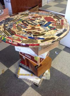 Beau Built By Deonn Yates II Great Use Of Left Over Cigar Boxes And Bands