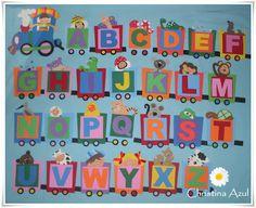 Alfabeto Illustrato: Christina blu
