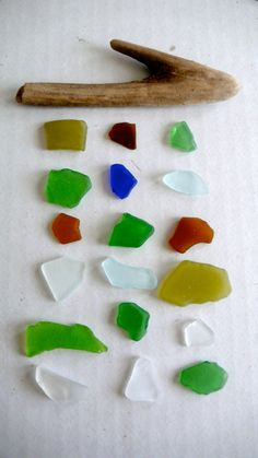 Sea Glass Mobile / Sun Catcher Made to Order from YOUR COLLECTION of Sea Glass...I do have a lot of sea glass.  this is a cute idea.