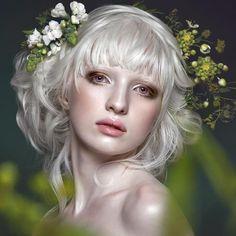 albino model - Google Search