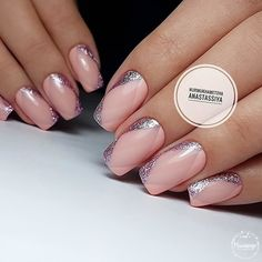 VK is the largest European social network with more than 100 million active users. Fancy Nails, Pink Nails, Cute Nails, Pretty Nails, Shellac Nails, Acrylic Nails, Nail Manicure, Light Nails, Latest Nail Art